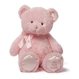 Pliušinis meškinas rožinis, 25cm, 6048599