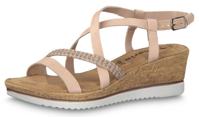 Tamaris Sandal 1-1-28340-22 Rose Metallic 38