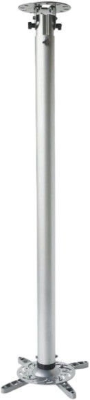 Techly Ceiling Mount Arm 110-190cm Silver