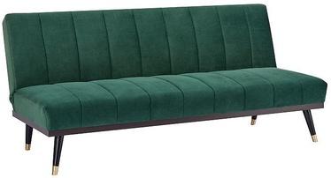 Signal Meble Sofa Queen Velvet Green/Wenge
