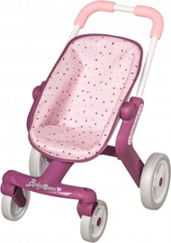 Smoby My First Stroller Baby Nurse Pink/Purple
