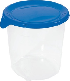Curver Food Container Round 1L Fresh&Go Blue