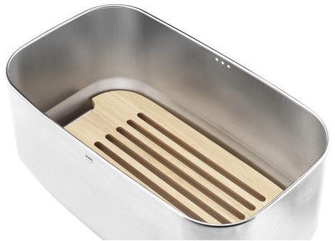 Hailo Bread Bin KitchenLine Design/Stainless Steel