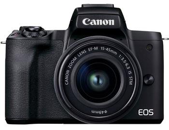 Süsteemne fotoaparaat Canon EOS M50 Mark II + EF-M 15-45mm IS STM Black