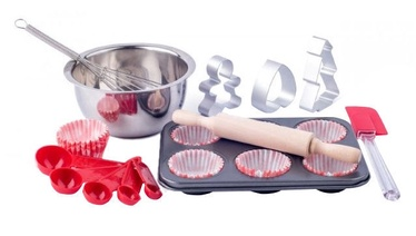 Woodyland Educational Kitchen Set Baking Muffins 91878