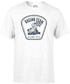 Nintendo T-Shirt Mario Kart Racing Team White L