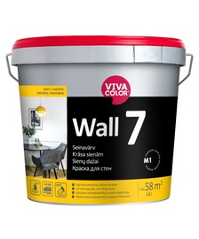 Vivacolor Wall 7 Paint 4.8l White