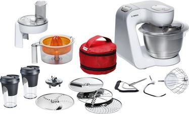 Bosch Kitchen Machine MUM58W56DE White/Silver