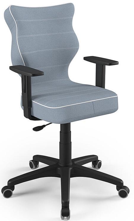 Детский стул Entelo Duo Size 5 JS06, синий/черный, 375 мм x 1000 мм