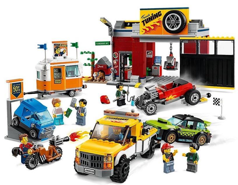 Konstruktorius LEGO® City 60258 Tobulinimo dirbtuvės