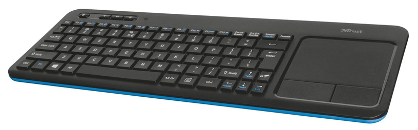 Клавиатура Trust Veza Wireless Touchpad Keyboard
