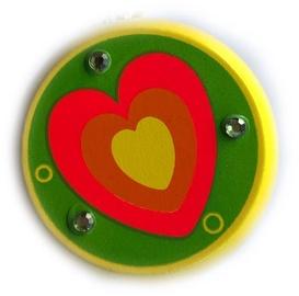Woody Yo-Yo Yellow With Heart 90735