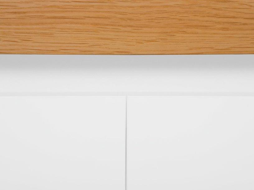 Black Red White Kioto Chest Of Drawers 40x97x88.5 cm White Oak