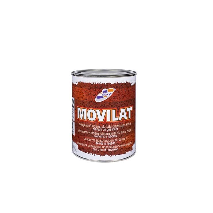 Dispersijas krāsa RILAK Movilat 12, 0.9L, balta