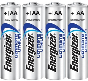 Energizer Lithium Battery AA x 4