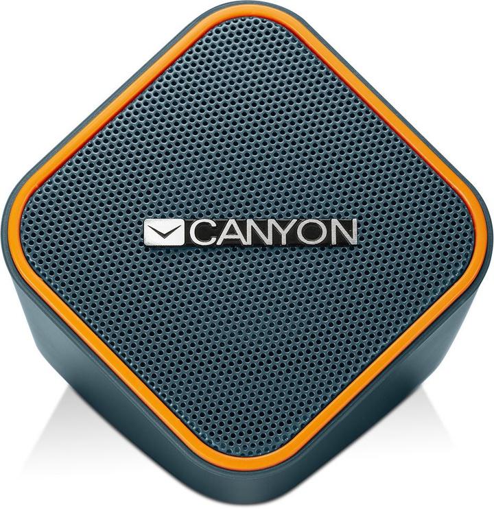 Canyon CNS-CSP203 2.0 Speakers Dark Grey/Orange