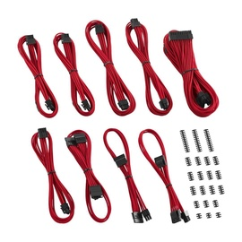 CableMod C-Series ModMesh Classic Cable Kit For Corsair AXi/HXi/RM(Yellow Label) Red