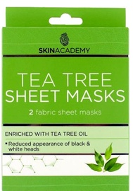 Skin Academy Tea Tree Sheet Masks 2pcs