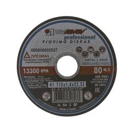 Lõikeketas teras Luga Abraziv 14A, 230x2,0x22 mm