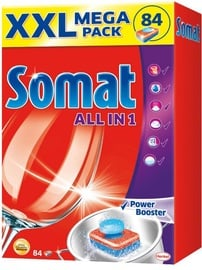 Somat All in One Tablets 84pcs