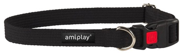 Siksniņa kakla Amiplay Cotton M melna 35-50/2
