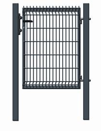 Garden Center Gate RAL7016 1000x1230mm Grey