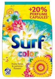 Skalbimo milteliai Surf Color Fruity Fiesta & Summer Flowers, 1,3 kg