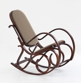 Fotelis Halmar Max Bis Plus Walnut, 90x52x95 cm