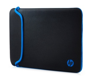 "HP Notebook Reversible Sleeve 14"" Black/Blue"