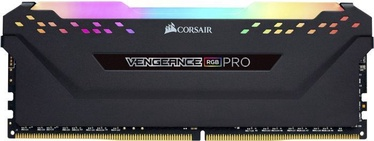 Corsair Vengeance RGB PRO Black 8GB 3600MHz CL18 DDR4 CM4X8GD3600C18W4