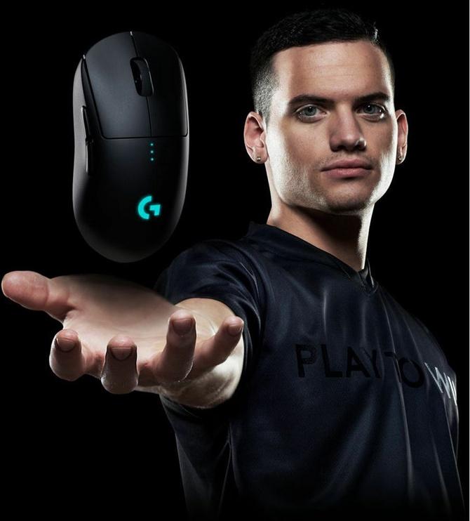 Logitech G Pro Wireless Gaming Mouse Black