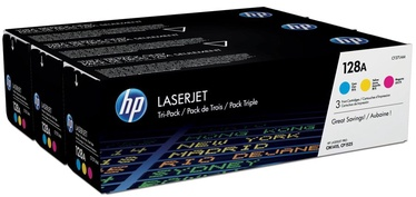 HP 128A Color Tri-Pack