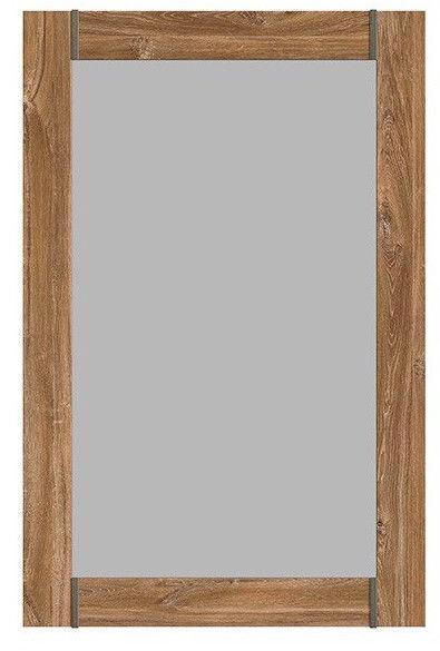 Spogulis Black Red White Gent Stirling Oak, stiprināms, 101x66 cm