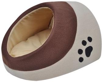 Dzīvnieku gulta - māja VLX Cubby L, brūna/bēša, 340 mm x 400 mm
