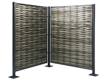Home4you Geneva Garden Screen Grey