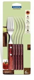 Tramontina Polywood Table Forks 6pcs