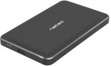 "Natec OYSTER PRO 2.5"" USB 3.0 Enclosure Black"
