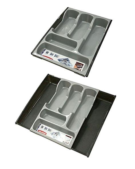 Stalo įrankių dėklas Curver, 42,5 x 29,7 x 6,5 cm, reguliuojamas plotis