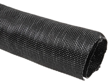 Techflex F6 Woven Wrap Sleeve 38.1mm Black 1m