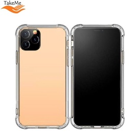 TakeMe Anti-Shock Cover Case For Apple iPhone 11 Pro Max Transparent 0.5mm