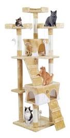 Kaķu skrāpis 170 cm - krēmkrāsas