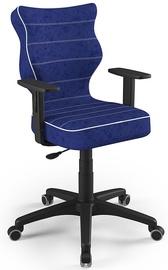 Детский стул Entelo Duo Size 6 VS06, синий/черный, 400 мм x 1045 мм