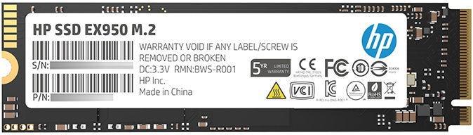 HP EX950 M.2 512GB