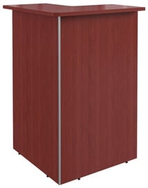 Skyland Dex DMC 88 Right Corner Reception Desk Memphis Cherry