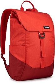 """Mugursoma Thule Lithos Backpack 16L Lava/Red Feather, sarkana, 15"""""""
