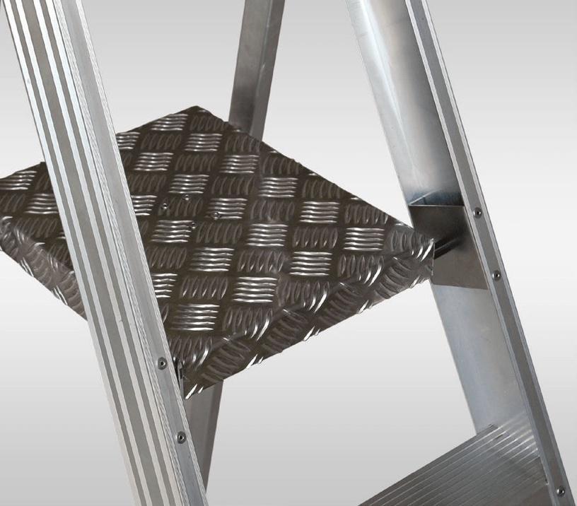 Elkop SHRP 808 Alu Builder Ladder w/ Platform 1.69m