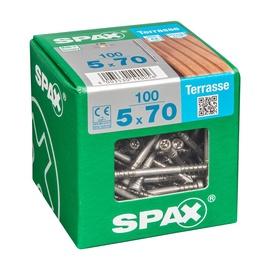 SKRŪVES TERASE 5X70 TX A2 100 GAB (SPAX)