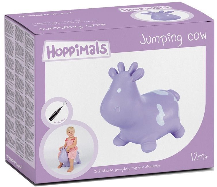 Tootiny Hoppimals Jumping Cow Violet
