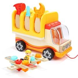 Lomu spēle Building Toys Foldable Workbench Truck