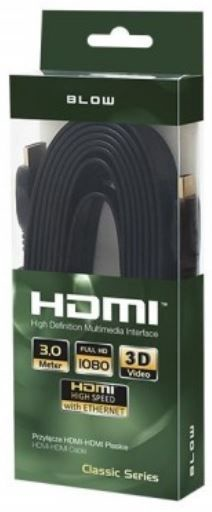 Провод Blow Cable HDMI to HDMI Black 3m